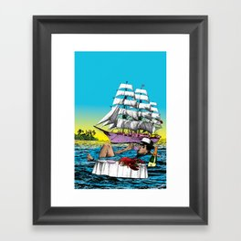 All inclusive Framed Art Print