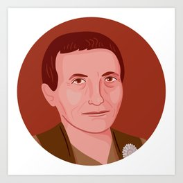 Queer Portrait - Gertrude Stein Art Print