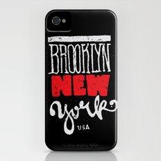 Brooklyn New York Slim Case iPhone (4, 4s)