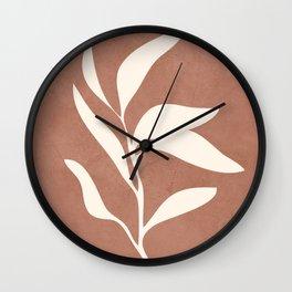 Little Leaves I Wall Clock