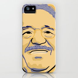 Gabriel Garcia Marquez iPhone Case