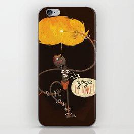 Yoga Flame iPhone Skin