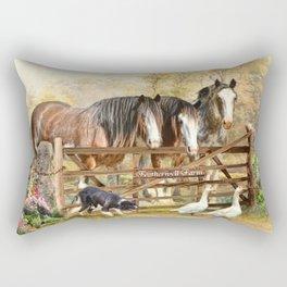 Featherwell Farm Rectangular Pillow