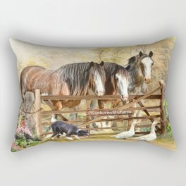 Featherwell Farm Rectangular Pillow