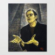 Frankenstein: LIGHT Canvas Print