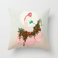 ...so this is why it rains! Throw Pillow