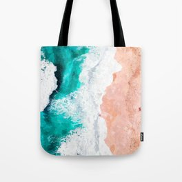 Beach Illustration Tote Bag
