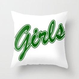 Girls, friends gift, gift for girlfriend, friends tv show Throw Pillow