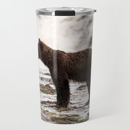 Young Grizzly Travel Mug