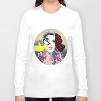 no face Long Sleeve T-shirts featuring Face by Cs025