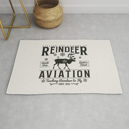 Reindeer Aviation - Christmas Rug