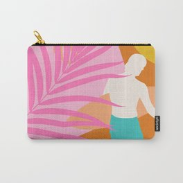 Noon Surfer Abstract Minimalism #2 #minimal #decor #art #society6 Carry-All Pouch