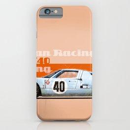 GT40 at Sebring iPhone Case
