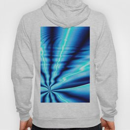 Blue Water Lines Hoody