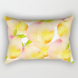 Millions of Peaches Rectangular Pillow