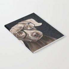 Mr Weimaraner Notebook