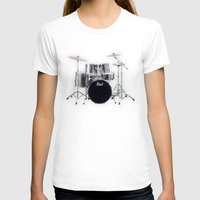 drums T-shirts featuring Pearl Drums  by good music