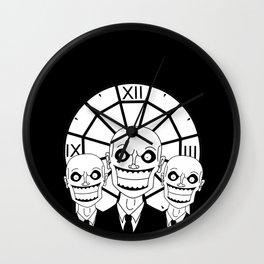 Hush - The Gentlemen (Black) Wall Clock