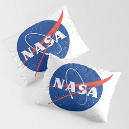 NASA logo Space Agency Astronaut Pillow Sham