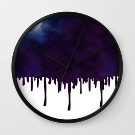 Painted Space Wall Clock