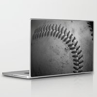 baseball Laptop & iPad Skins featuring Baseball by Christy Leigh