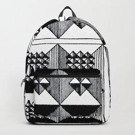 Engraved Patterns Backpack