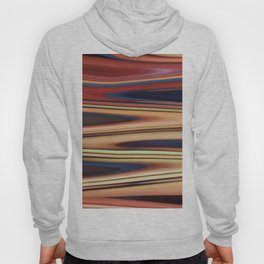 Abstract: Blue Red Beige Zigzag Hoody