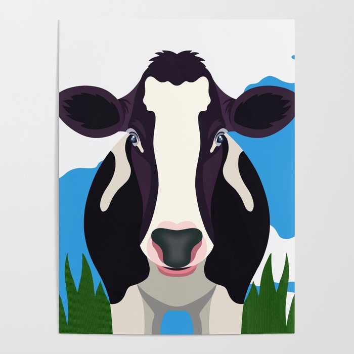 Cow Poster