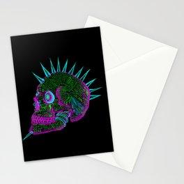 skull of fuckoffness  Stationery Cards