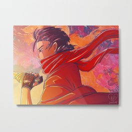 Keith - An Oath in the Desert Metal Print