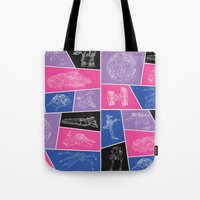 ships Tote Bags featuring Ships by Dorothy Leigh