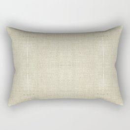 """""""Nude Burlap Texture"""" Rectangular Pillow"""