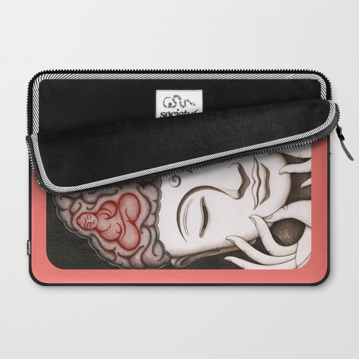 How meditation changes your brain... and makes you wiser? Laptop Sleeve