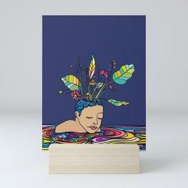 Spring Head Mini Art Print
