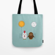 Early Bird & Night Owl Tote Bag