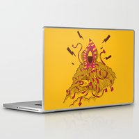 kraken Laptop & iPad Skins featuring Kraken! by Popnyville