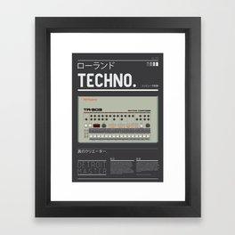 Detroit-909 Framed Art Print
