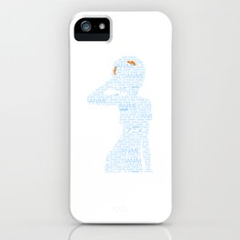 Anime Manga Inspired Shirt iPhone Case