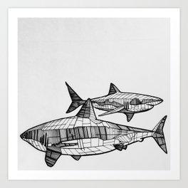 Great Friends Art Print