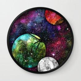 A Galaxy Far Away Wall Clock