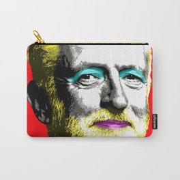 Marilyn Corbyn - Red Carry-All Pouch