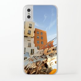 The Ray and Maria Stata Center Clear iPhone Case