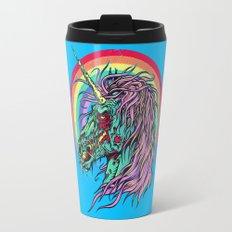 Zombie Unicorn Travel Mug