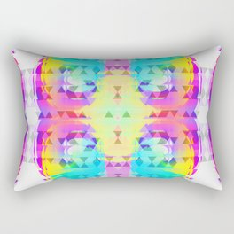 Bright Tribomb Rectangular Pillow