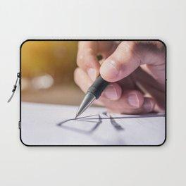 Hand drawing art Laptop Sleeve