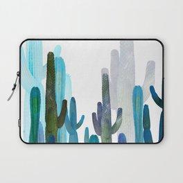 blue cactus Laptop Sleeve