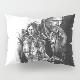 The Last Of Us Part II - Ellie and Joel Pillow Sham