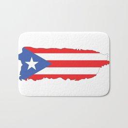 Puerto Rico Colors Bath Mat