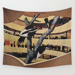 Art Museum Wall Tapestry