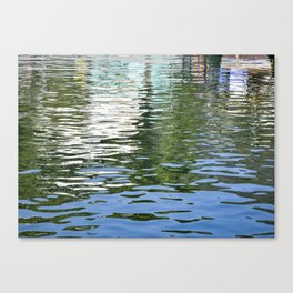 Colorful Reflections Abstract Canvas Print
